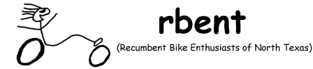 rbent - Recumbent Bike Enthusiasts of North Texas